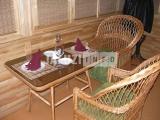 Бамбуковые салфетки в ресторане