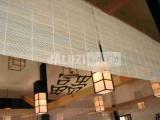 Бамбуковое полотно в ресторане