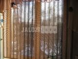 Тюлевое бамбуковое полотно днем