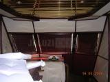 Деревянные жалюзи на яхте